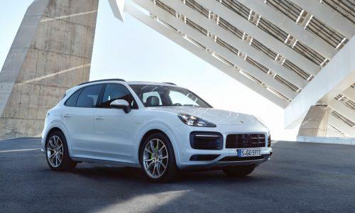 2018 Porsche Cayenne E-Hybrid plug-in on sale in Australia from $135,600