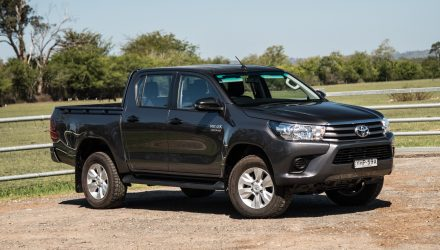 2018 Toyota HiLux SR review