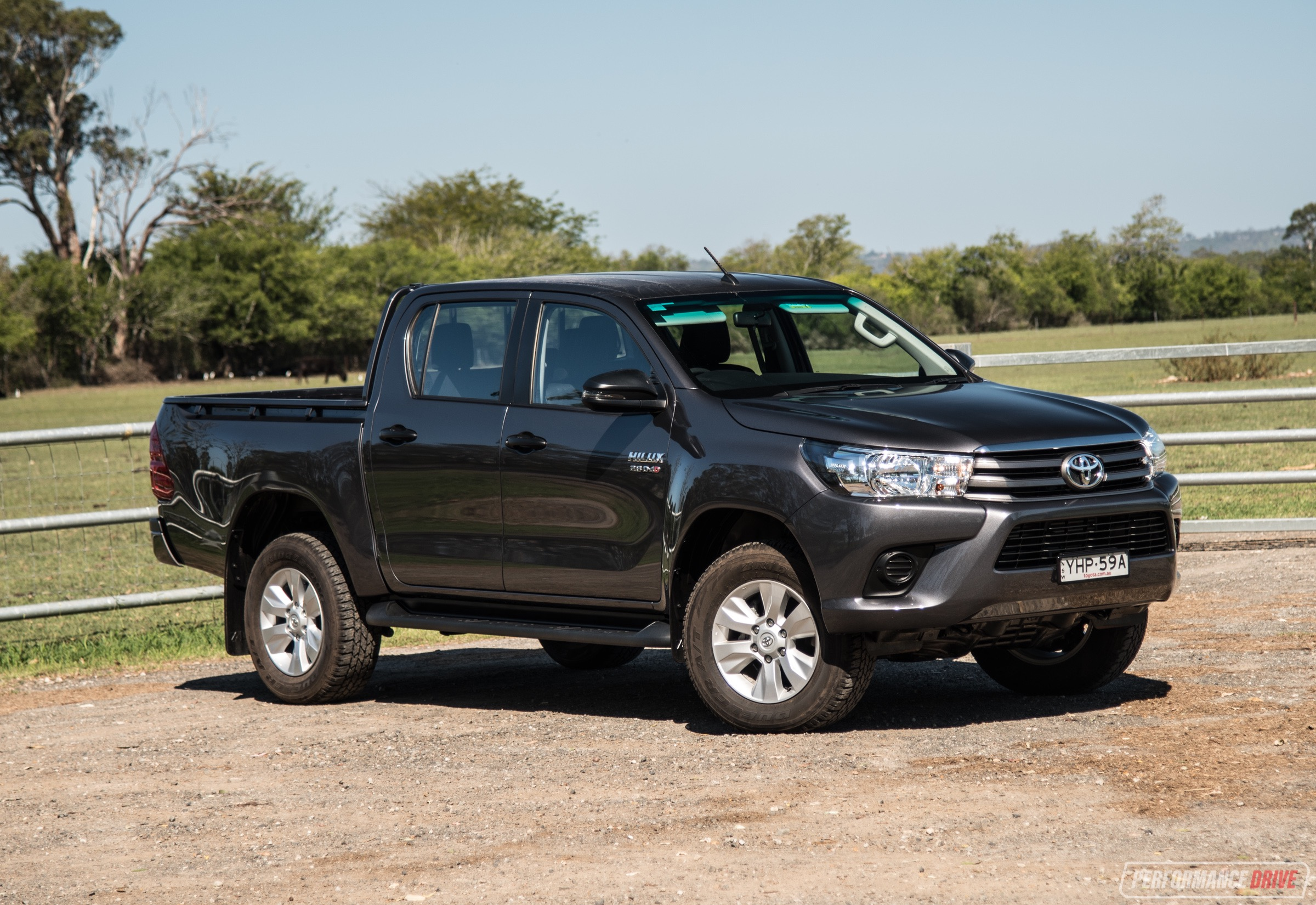 Fine 2018 Toyota Hilux Sr Review Performancedrive Gmtry Best Dining Table And Chair Ideas Images Gmtryco
