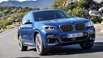 BMW X3 M40d performance diesel confirmed with showroom updates