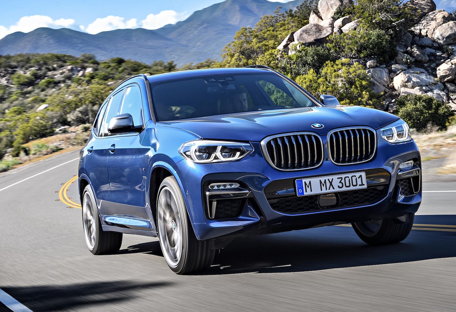 Bmw X3 M40d Performance Diesel Confirmed With Showroom Updates Performancedrive