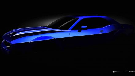 2019 Dodge Challenger SRT Hellcat previewed with new bonnet