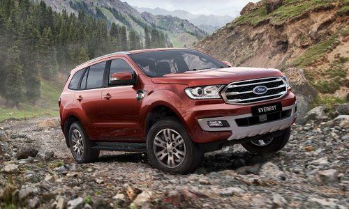 2019 Ford Everest revealed for Australia, on sale fourth quarter