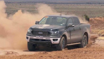 2019 Ford Ranger undergoes tough development testing (video)