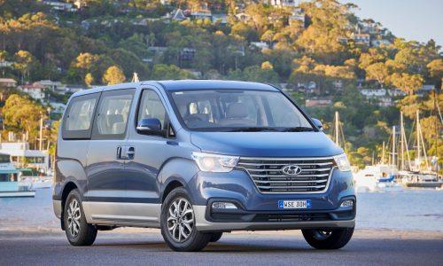 2019 Hyundai iLoad & iMax get smart new look, now on sale in Australia