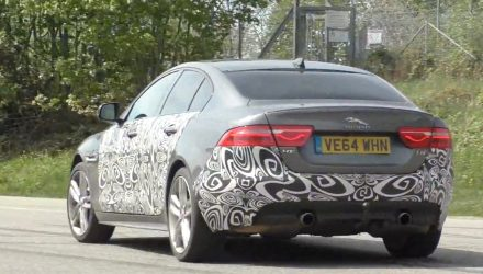 Jaguar XE S prototype spotted, new V6-based XE 400 Sport? (Video)
