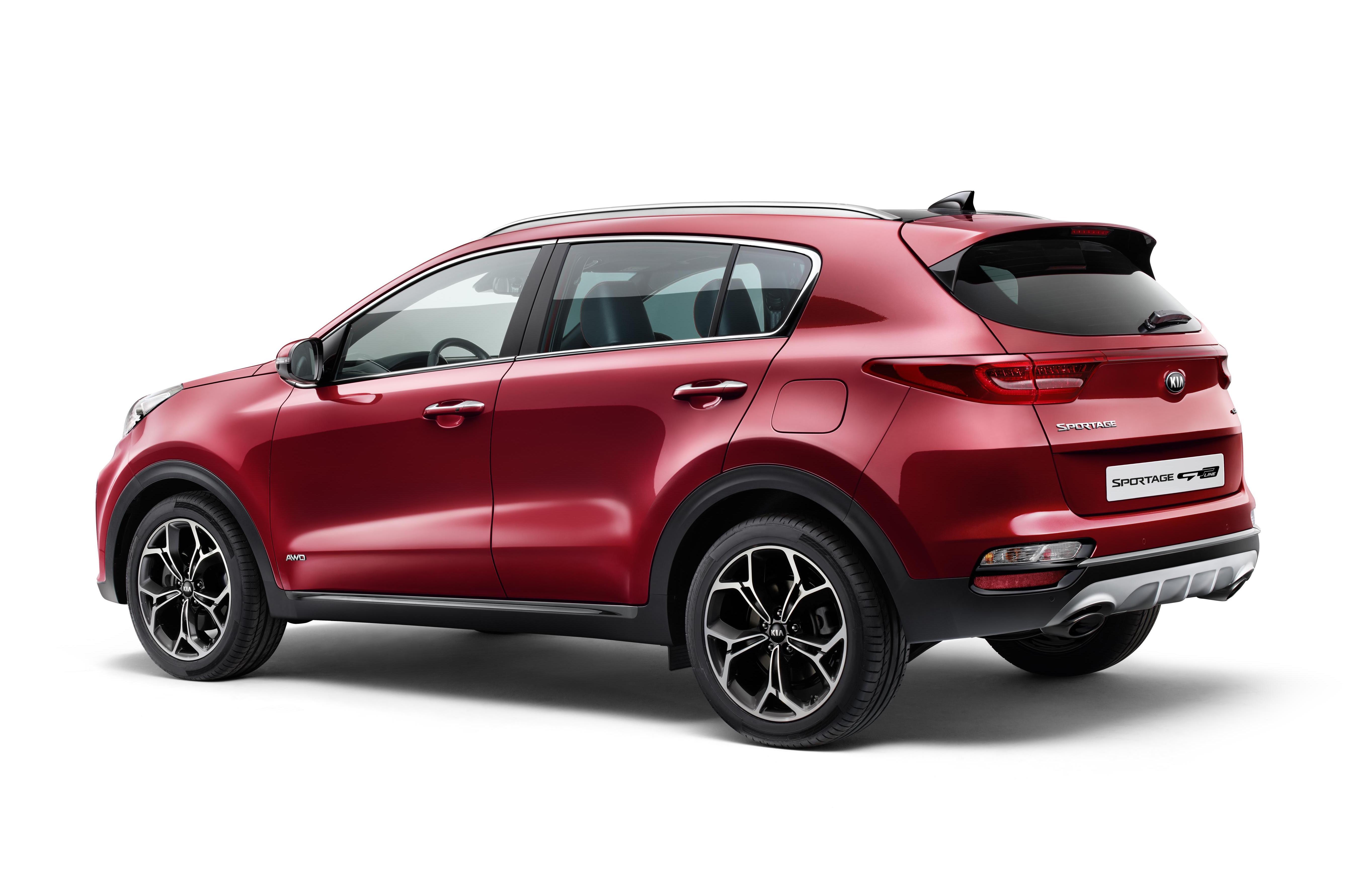 2019 kia sportage revealed with new hybrid diesel