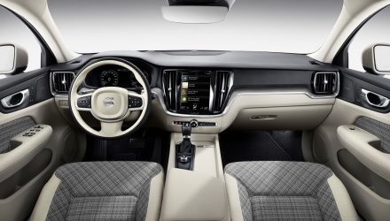 2019 Volvo V60 getting cool plaid textile interior trim option