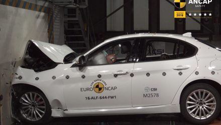 Alfa Romeo Giulia & Stelvio receive 5-star ANCAP safety rating