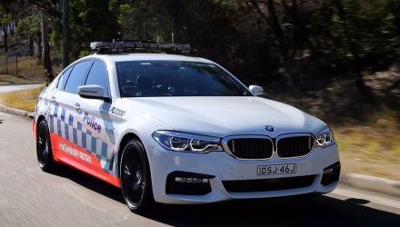 BMW 530d patrol cars confirmed for NSW Police Force