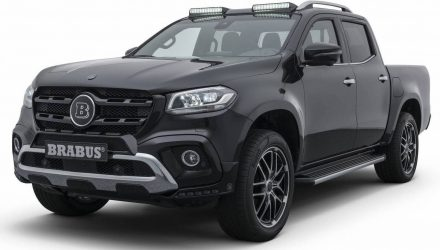 BRABUS reveals first upgrades for Mercedes-Benz X-Class
