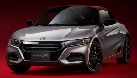 Honda S660 gets the full Modulo X treatment