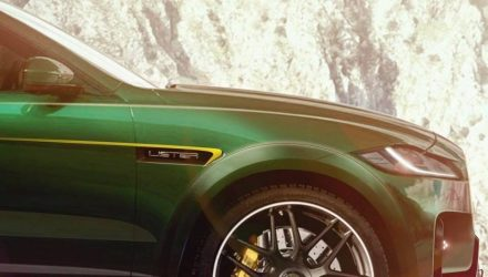 Lister Lightning previews 500kW Jaguar F-PACE