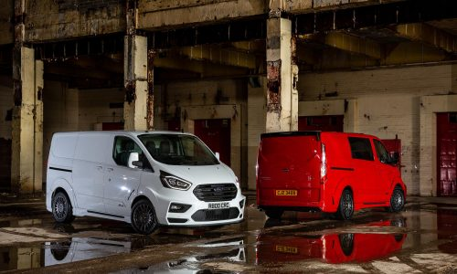 Ford launches sporty MS-RT Transit Custom in the UK
