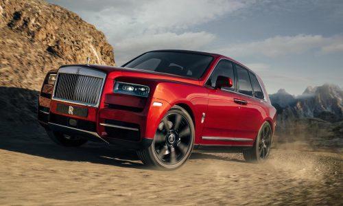Rolls-Royce Cullinan SUV unveiled