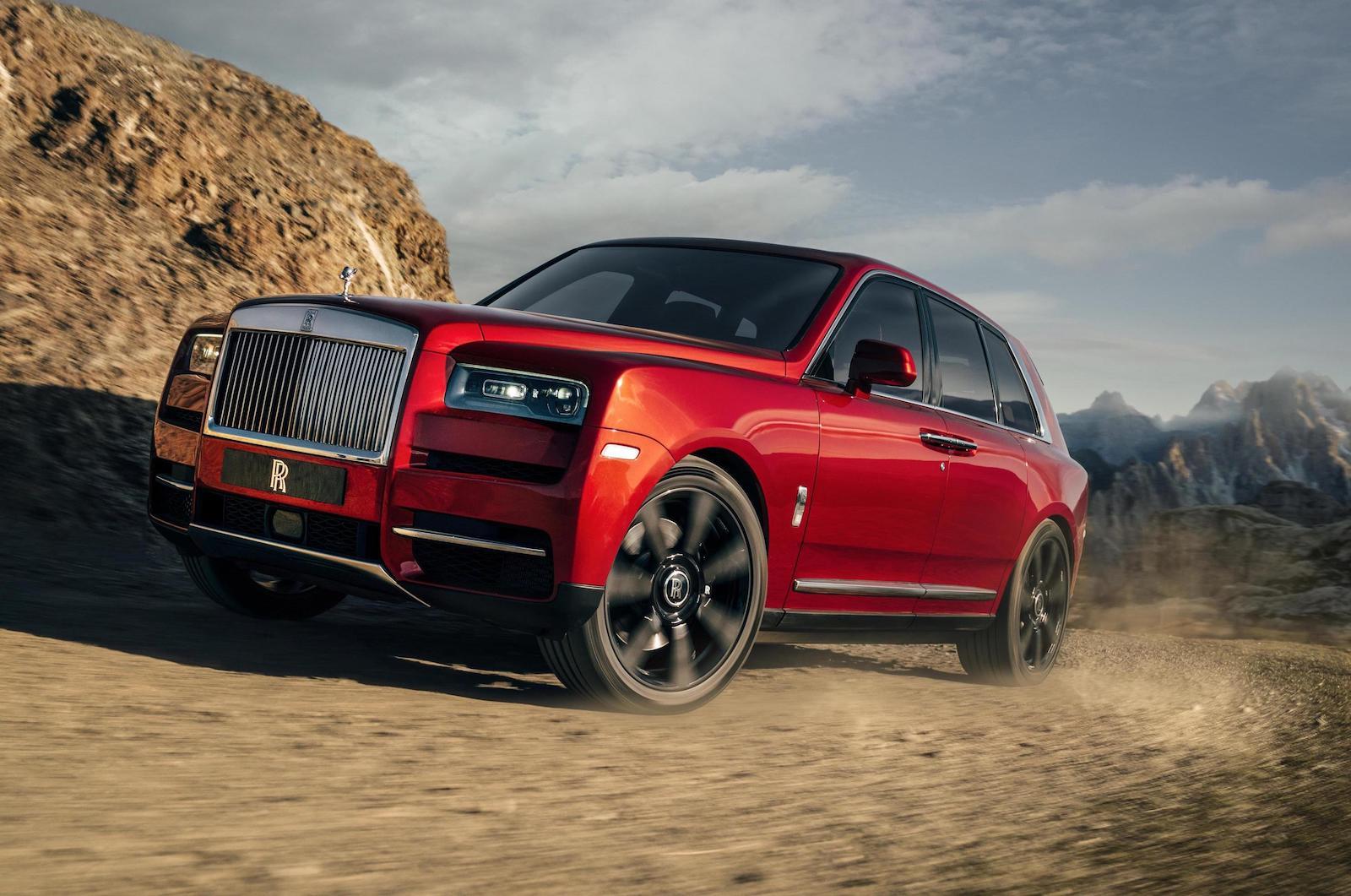 Rolls Royce Cullinan Suv Unveiled Performancedrive