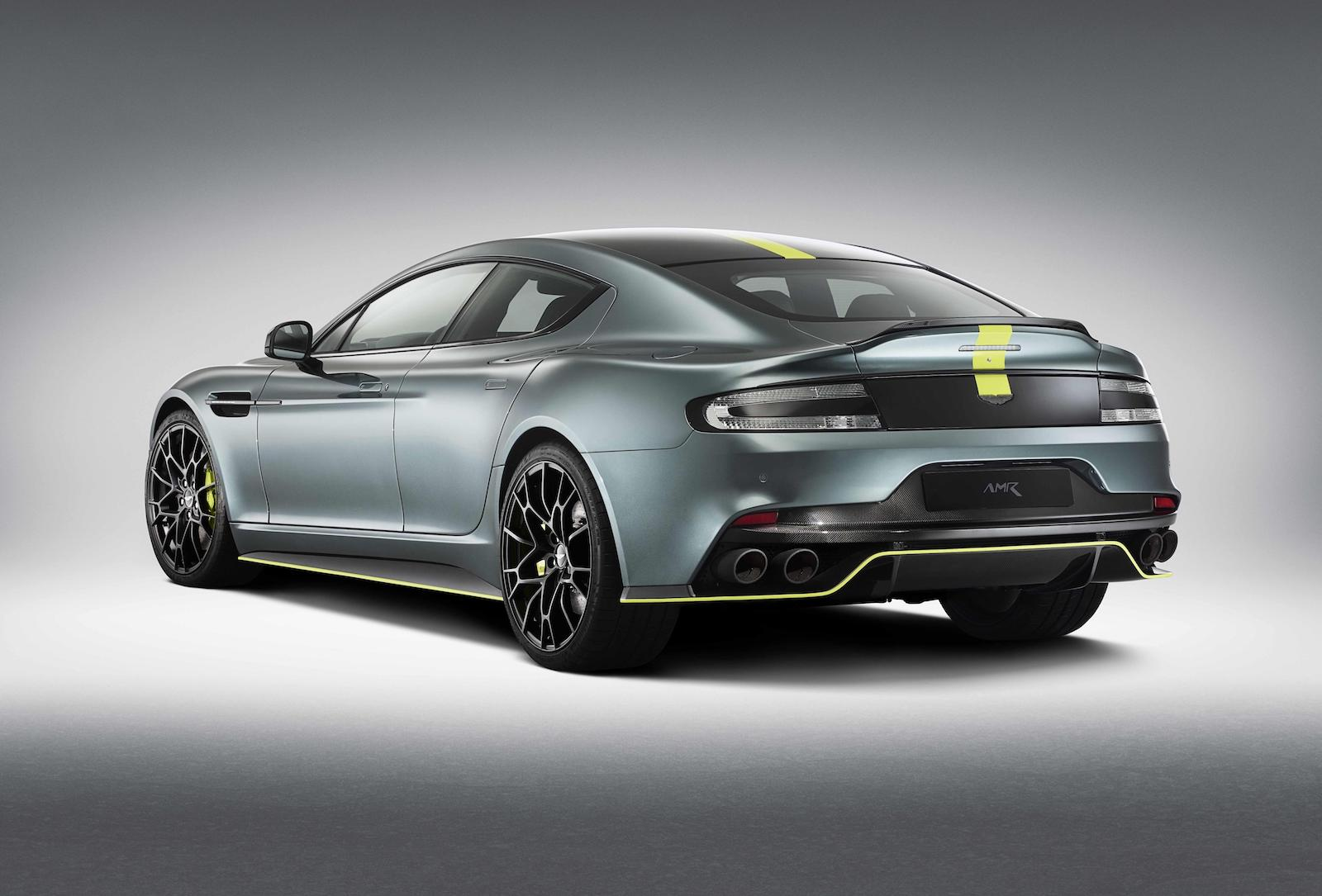 Aston Martin Rapide AMR Debuts, Inspired By Motorsport