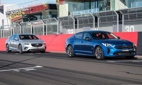 2018 Holden Commodore VXR vs Kia Stinger 330Si: Sports sedan comparison (video)