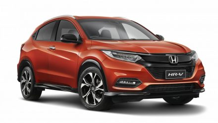 2018 Honda HR-V updates announced, sporty RS variant added
