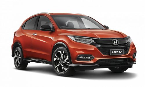 2018 Honda HR-V updates announced, sporty RS variant added