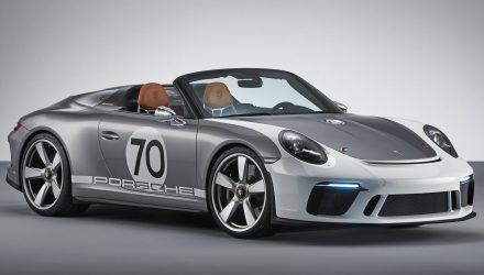 Porsche 911 Speedster Concept revealed for 70th anniversary