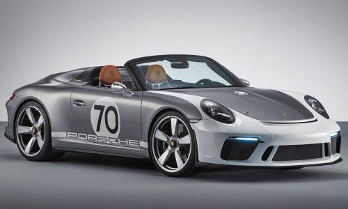 Porsche 911 Speedster Concept revealed for 70th anniversary