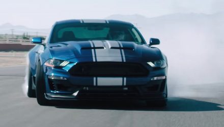 Video: 2018 Shelby Super Snake shows off its 800hp grunt