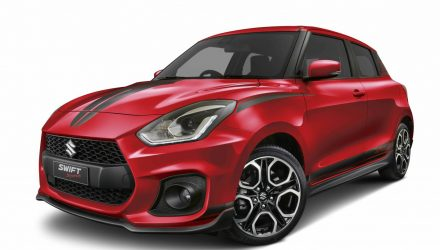 Suzuki Swift Sport Red Devil edition announced in Australia