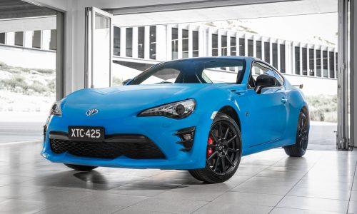 Toyota 86 hits 20,000 sales in Australia, new Apollo blue added