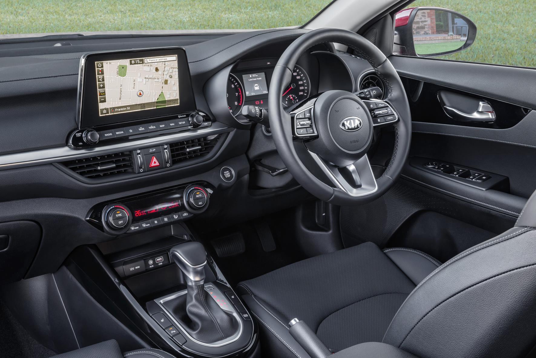 Kia Forte For Sale >> 2019 Kia Cerato Sport Plus-interior