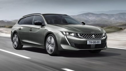 2019 Peugeot 508 SW wagon revealed