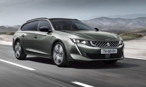 2019 Peugeot 508 SW wagon revealed