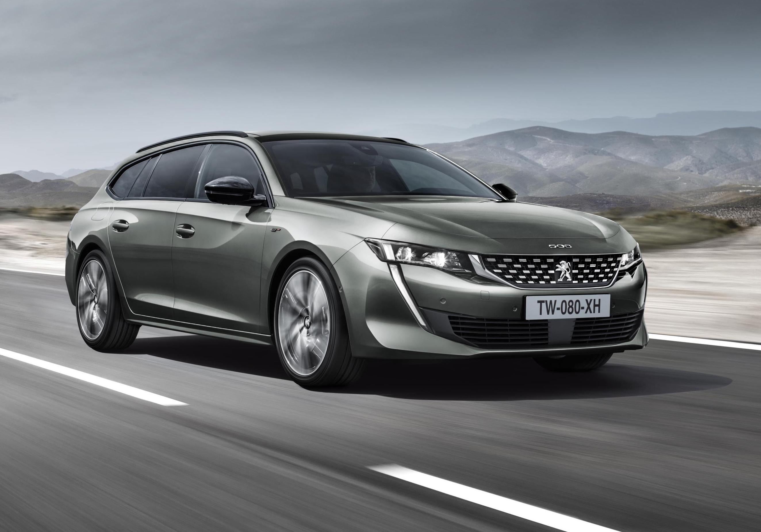2019 Peugeot 508 Sw Wagon Revealed Performancedrive