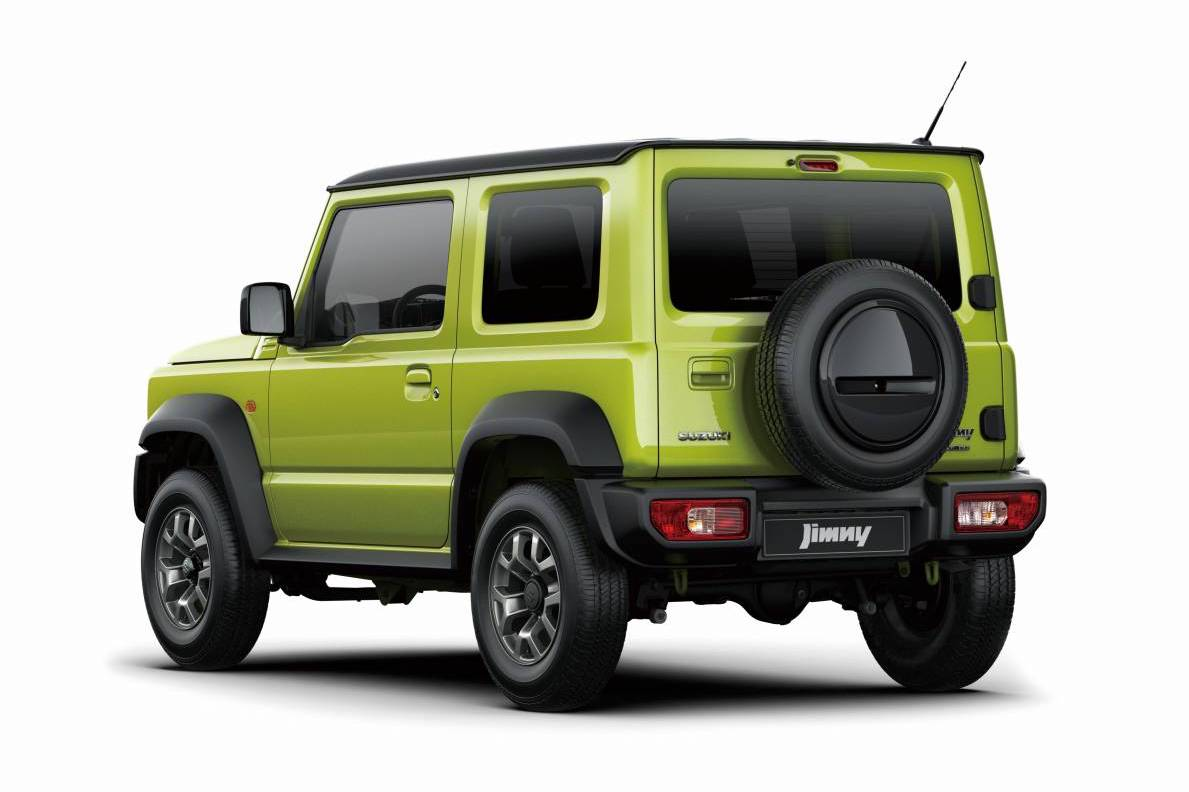 New Suzuki Jimny 2018 >> 2019 Suzuki Jimny revealed, first official images (UPDATE: interior, chassis images ...