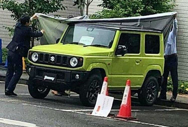 2019 Suzuki Jimny spotted, reveals new-look design ...