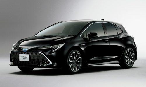 JDM-spec 2019 Toyota Corolla Sport gets turbo option