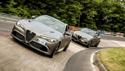 Alfa Romeo Giulia QV NRING & Stelvio QV NRING editions revealed