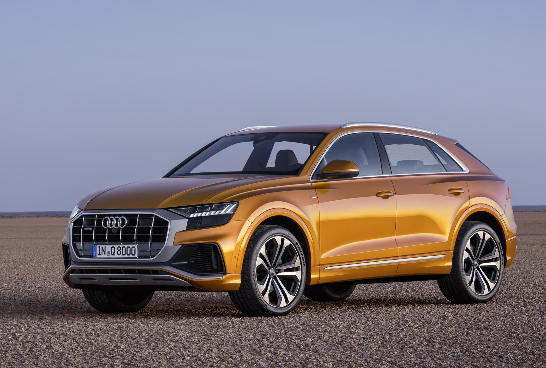Audi Q8 Officially Revealed Debuts With Mild Hybrid 3 0