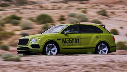 Bentley hunting production SUV record at Pikes Peak with Bentayga W12