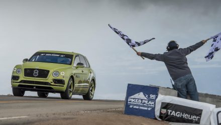 Bentley Bentayga breaks SUV record at 2018 Pikes Peak