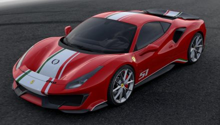Ferrari 488 Pista 'Piloti Ferrari' special edition revealed