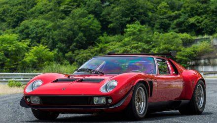 Lamborghini Polo Storico restores ultra-rare Miura SVR