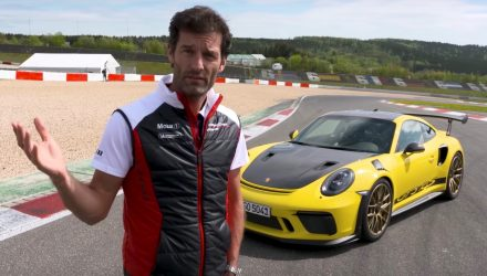 Video: Mark Webber reviews the 2018 Porsche 911 GT3 RS