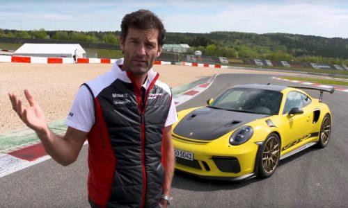 Video: Mark Webber reviews the 2018 Porsche 911 GT3 RS