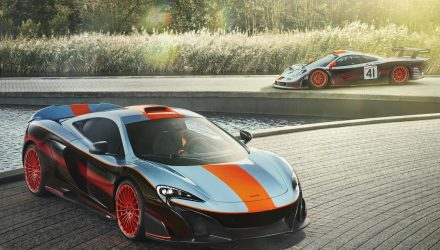 McLaren MSO creates custom 675LT Gulf Racing edition