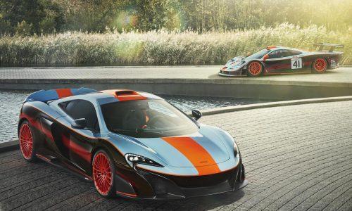 McLaren MSO creates custom 675LT Gulf Racing edition