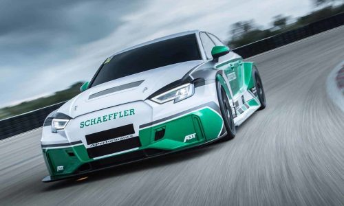 Schaeffler Audi RS 3 sedan revealed, packs 880kW (video)