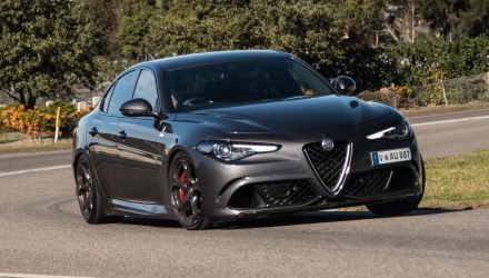 2018 Alfa Romeo Giulia Quadrifoglio review (video)
