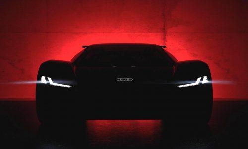 Audi PB18 e-tron supercar concept to debut at Pebble Beach