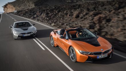 2018 BMW i8 Roadster & Coupe LCI update now on sale in Australia